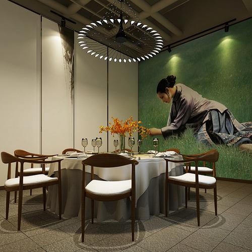 深圳中式餐厅装修