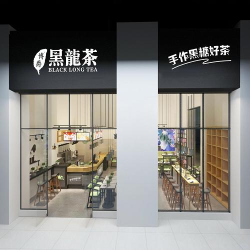 深圳奶茶店店铺装修