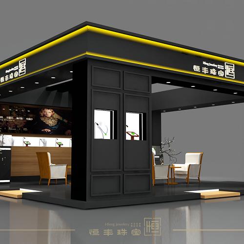 深圳珠宝店铺设计