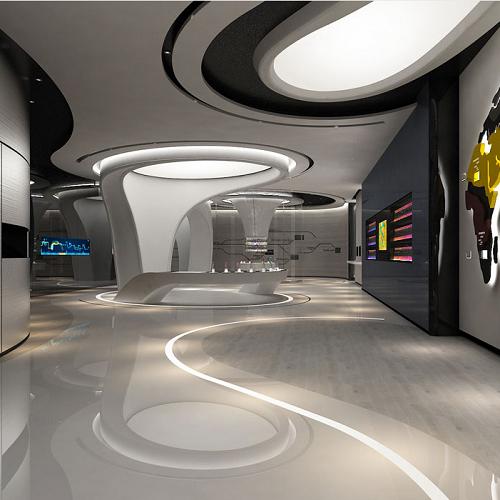 企业多媒体展厅设计