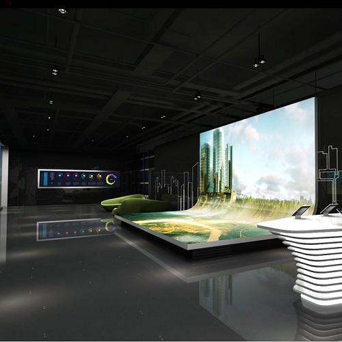 科技多媒体展厅装修